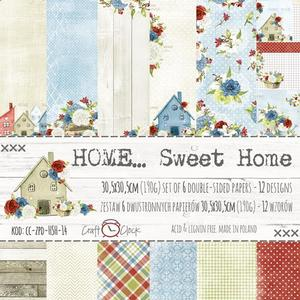 "Craft O´Clock - Home sweet home - 12x12"" paper pack"