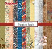 "Scrapberrys - Adventure Awaits  stack 6x6"""