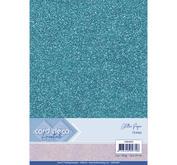 Card Deco - Glitterpapper- ocean