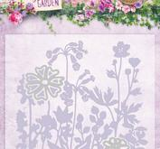 Studio Light - Embossingfolder med die -blommor