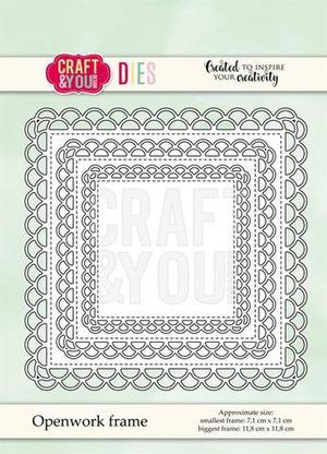 Craft & You - Openwork frame