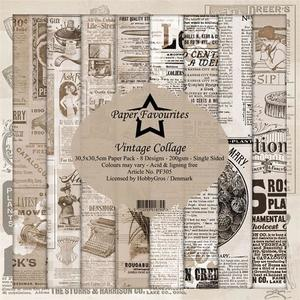 Paper Favourites - Vintage Collage