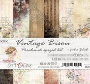 Craft a Clock - Vintage bisou - 12x12