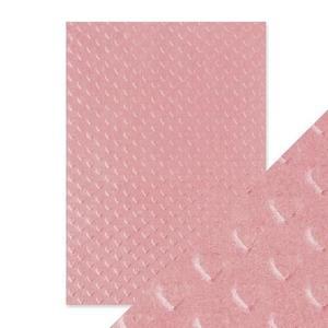 Tonic Studios - Embossed paper - blush heartbeat