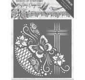 Amy Design - Die - Words of sympathy - Cross frame