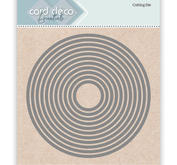 Card Deco - Cutting dies - Round