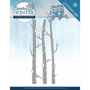 Yvonne Creations - Sparkling winter- Birch Trees