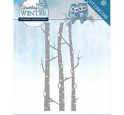 Yvonne Creations - Sparkling winter- Birch Trees
