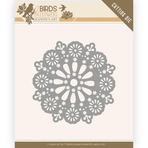 Jeanine´s Art - Birds & flowers - Daisy circle