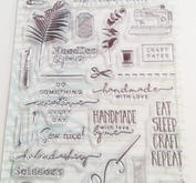 Marianne Design - Clear Stamp - Eline's clear stamps craft dates 2