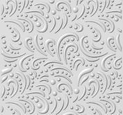 Creative expressions - embossing folder -dotty flourish