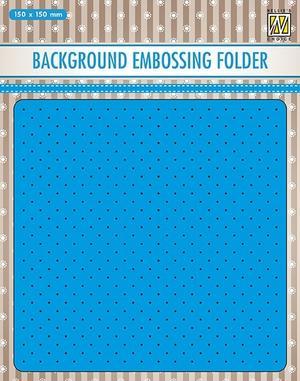 Nellie Snellen - Embossing folder - small dots