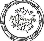 Marianne Design -Cirklar med stjärnor