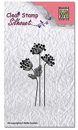 Nellie - Snellen - clear stamp Silhouette - 016
