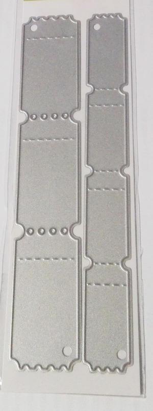 CE - Biljettremsor 2 storlekar