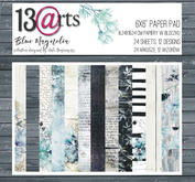 """13@rts -  Paper Collection Blue magnolia 6x6"""""""