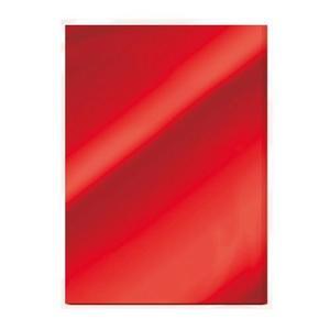 Tonic Studios mirror card - gloss - Ruby red