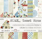 "Craft O´Clock - Home sweet home - 6x6"""" paper pack"