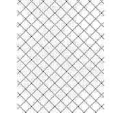 Darice - Embossing folder -wire fence
