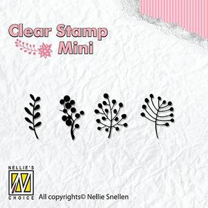 Nellie Snellen -CLEAR STAMP - mini - Berries