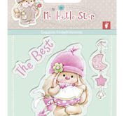 Scrapberrys - Clearstamp - My little star - The best
