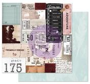 Prima - Midnight garden collection - Traveling tickets
