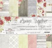 """Craft O´ Clock -Always together 12x12"""""""