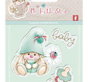 Scrapberrys - Clearstamp - My little star - Baby