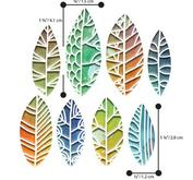 Sizzix - thinlits - cut out leafs