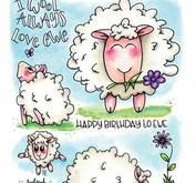 CE-Clearstamp-Carla Creaties-sheep 1