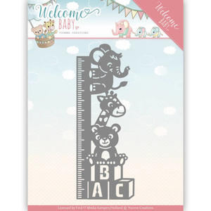 Yvonne Creations  -  Welcome Baby - Growth Chart