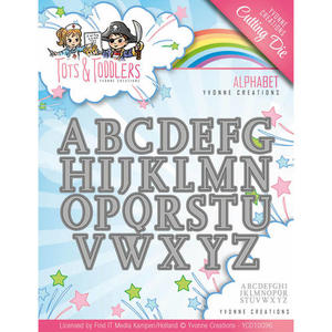 Yvonne Creations  -  Tots and Toddlers - Alphabet