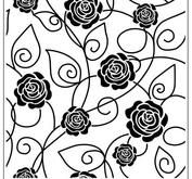 Crafts too - embossingfolder - Roses