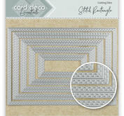 Card Deko - Essentials - Cutting dies -   Stitch Rectangle