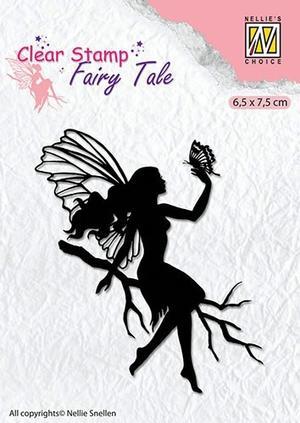Nellie Snellen - clearstamp - Silhoutte - Fairy tale 9