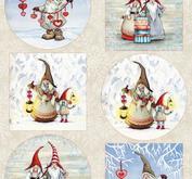 Marianne Design Klippark -Hellys gnomes