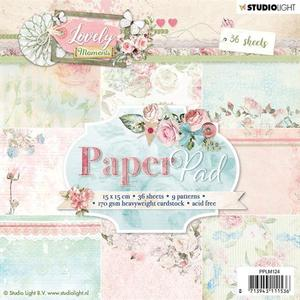Studio Light - Paper pad - Lovely moments 124