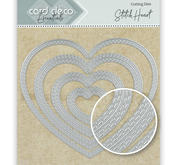 Card Deko - Essentials - Cutting dies -   Stitch heart