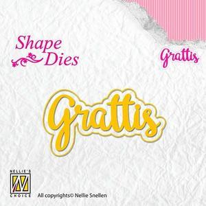 Nellie Snellen - Shape dies  -  Grattis