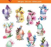 Easy 3D toppers -Easter egg cups