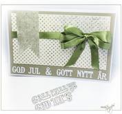 ROX Stamps - Die med texten GOD JUL & GOTT NYTT ÅR