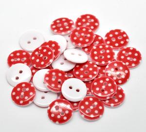 Prickiga knappar - Röda