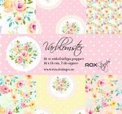 ROX Stamps - Paperpad - Vårblomster