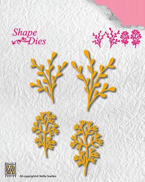 Nellie Snellen - Shape dies - kvistar