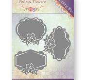 Jeanine´s Art -  Vintage flowers - plattor