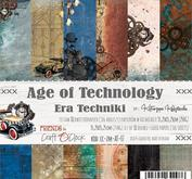 Craft O´ Clock - age fo technology - 6 x6""