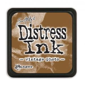 1 st stämpeldyna Distress Ink - vintage photo - mini
