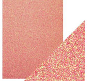 Craft Perfect -  Glitter card -Candy Floss