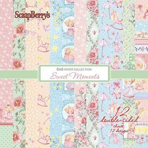 "Scrapberrys - Sweet moments 6x6"""