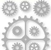 CE-  gears , clock pointers